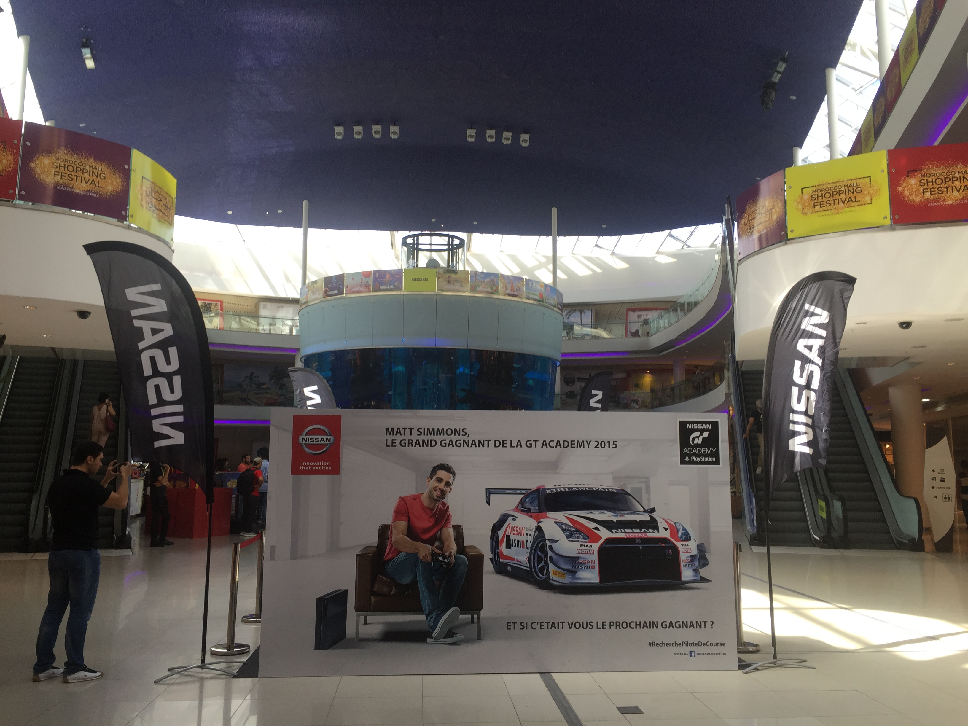 <strong>NISSAN – STAND NISSAN GT ACADEMY MALL<span><b>in</b>Stand </span></strong><i>→</i>