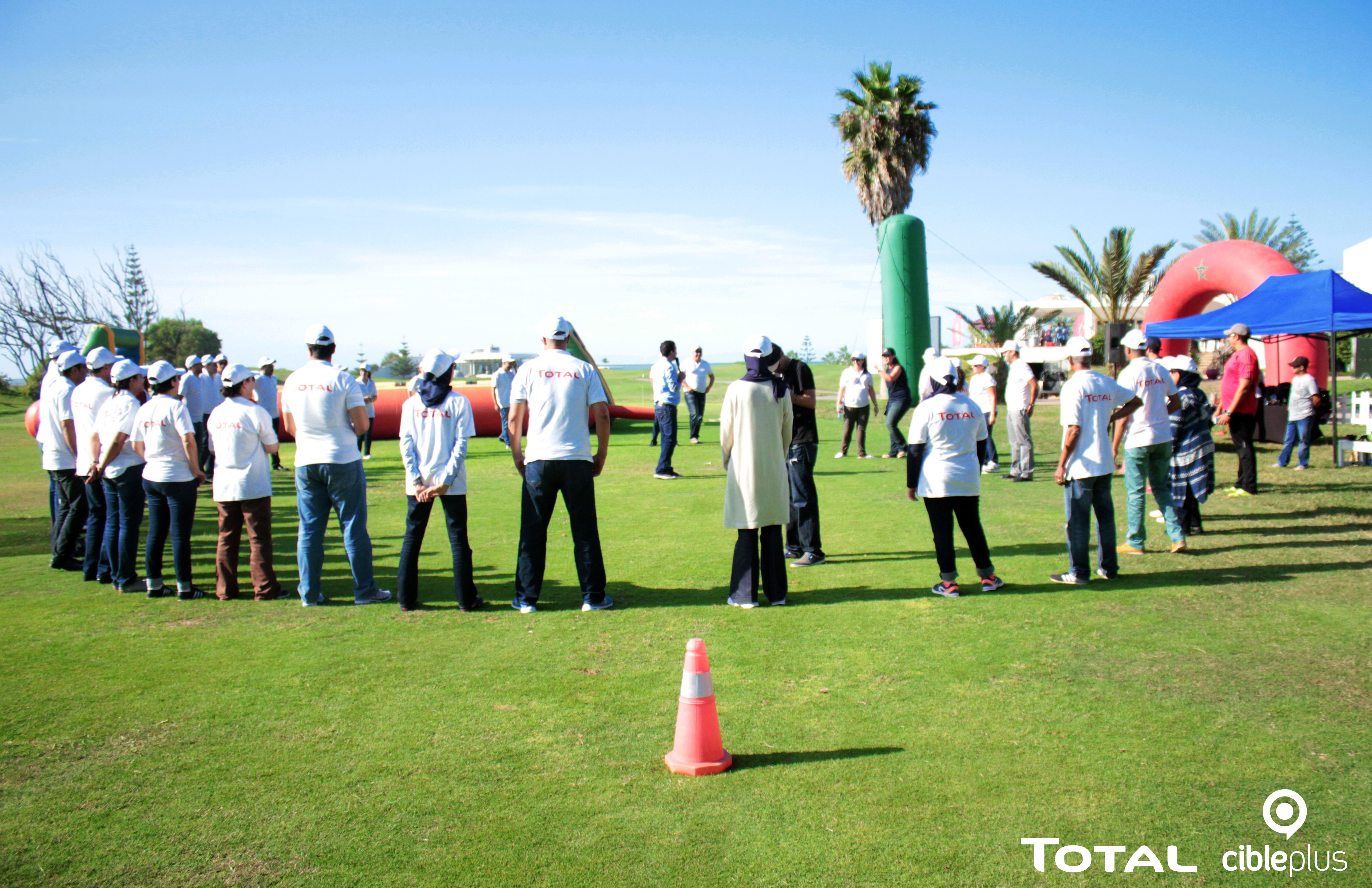 <strong>TOTAL MAROC – TEAM BUILDING DAF<span><b>in</b>Team building </span></strong><i>→</i>