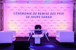 <strong>SANAD – CEREMONIE DES REMISES DE PRIX  30 JOURS #872B<span><b>in</b>Evénements- Conventions </strong><i>→</i>