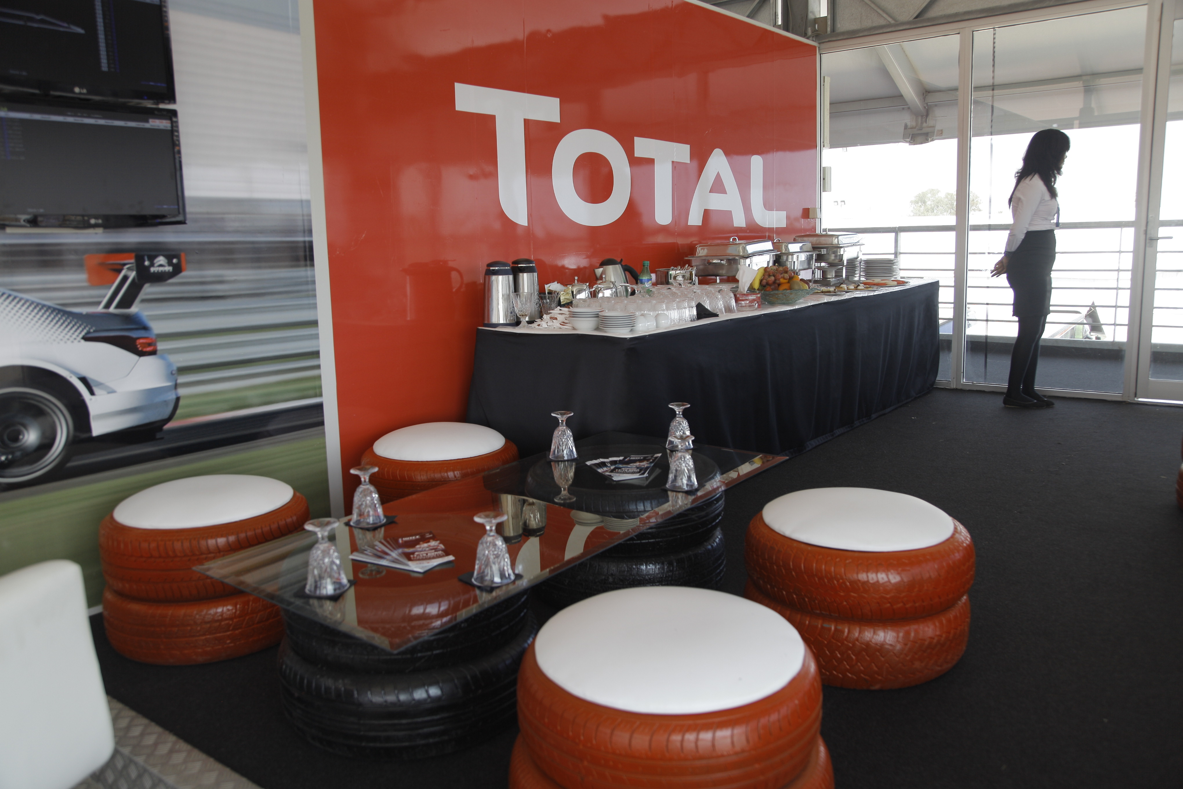 <strong>TOTAL MAROC- LOGE WTCC 2015<span><b>in</b>Aménagement- agencement </span></strong><i>→</i>