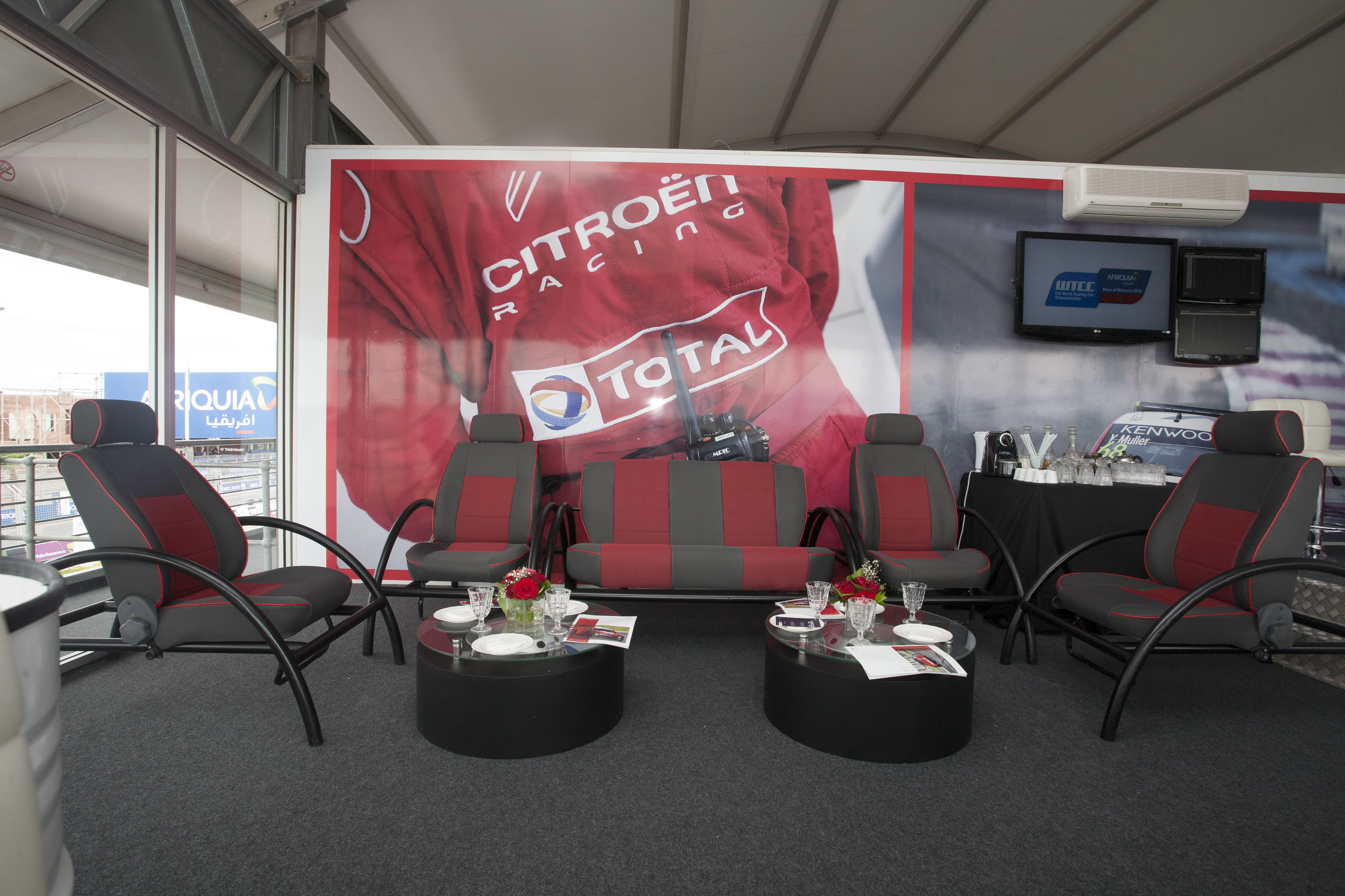 <strong>TOTAL MAROC – LOGE WTCC 2016<span><b>in</b>Aménagement- agencement </span></strong><i>→</i>